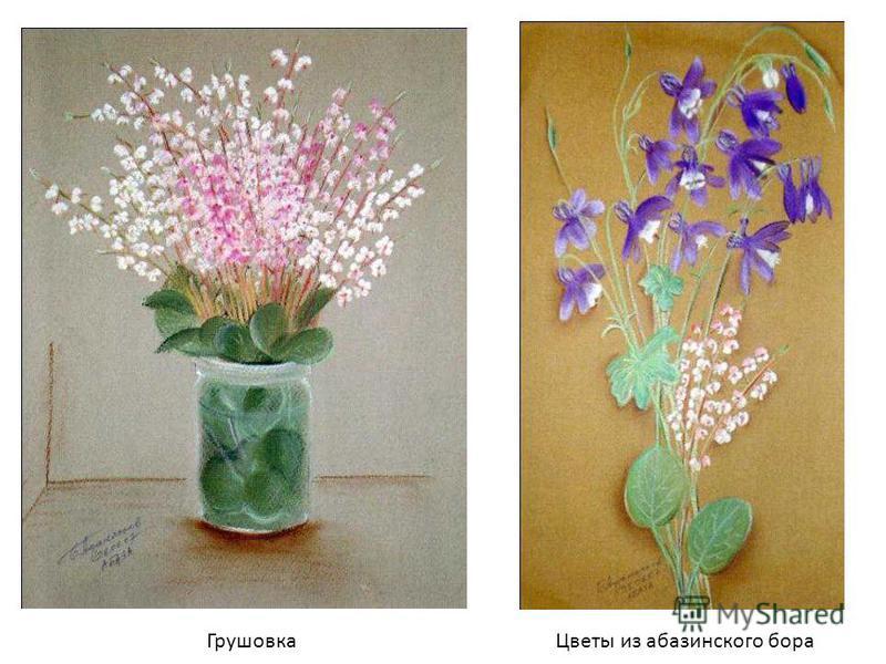 Грушовка Цветы из абазинского бора