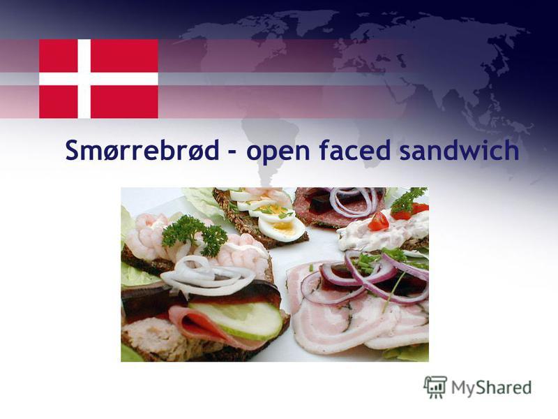 Smørrebrød - open faced sandwich