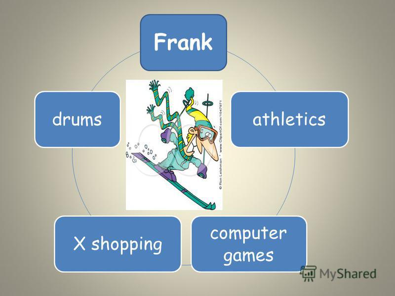 Frank athletics computer games X shoppingdrums