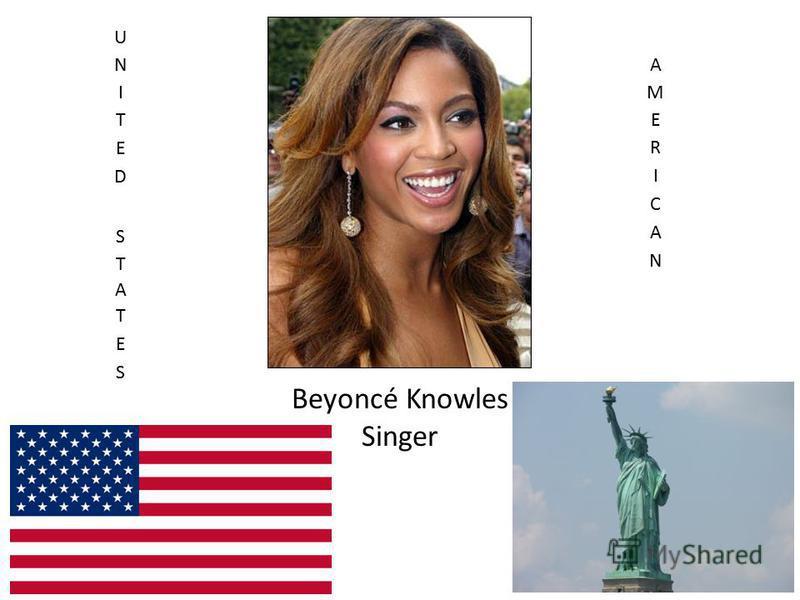Beyoncé Knowles Singer