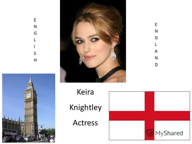 Keira Knightley Actress