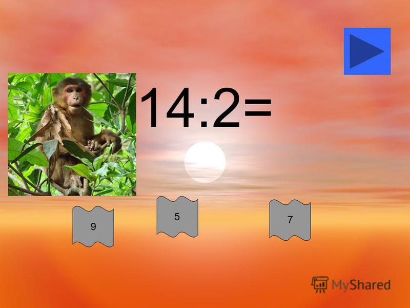 14:2= 5 9 7