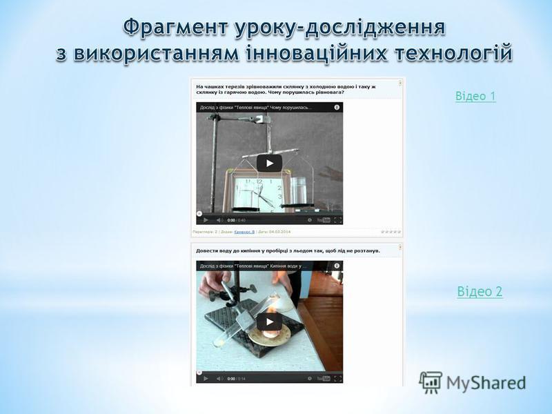 Відео 1 Відео 2