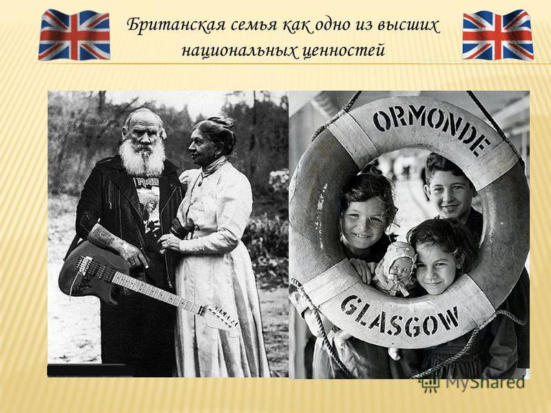 Британская семья как одно из высших национальных ценностей