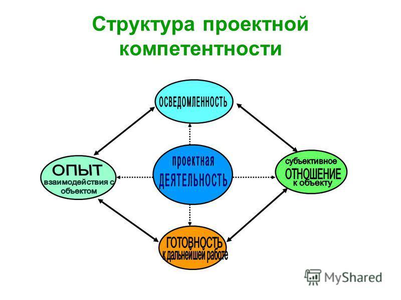 Структура проектной компетентности