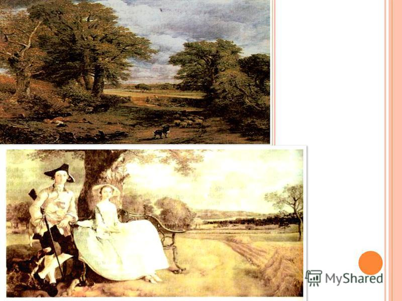 C ONSTABLE (1786-1837) T HE C ORNFIELD John Constable was fond of the place, where he was born and spent his childhood on the river Stour. He saw very beautiful woods. He painted the landscape without any changes and trees or other objects were in hi