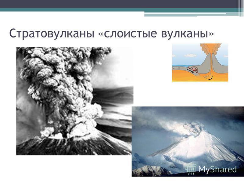 Стратовулканы «слоистые вулканы»