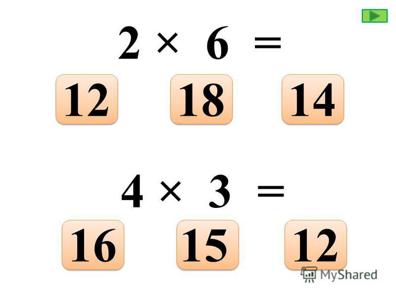 6 × 9 = 565445 7 × 3 = 212427
