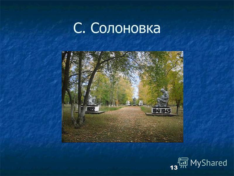 13 С. Солоновка
