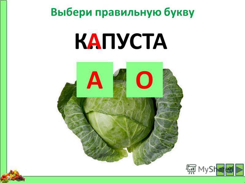 К..ПУСТА АО А Выбери правильную букву