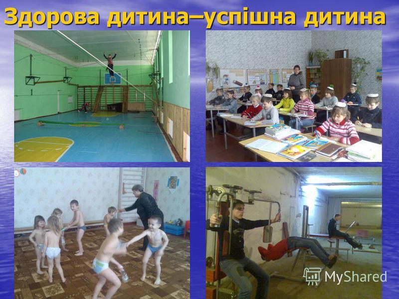 Здорова дитина–успішна дитина