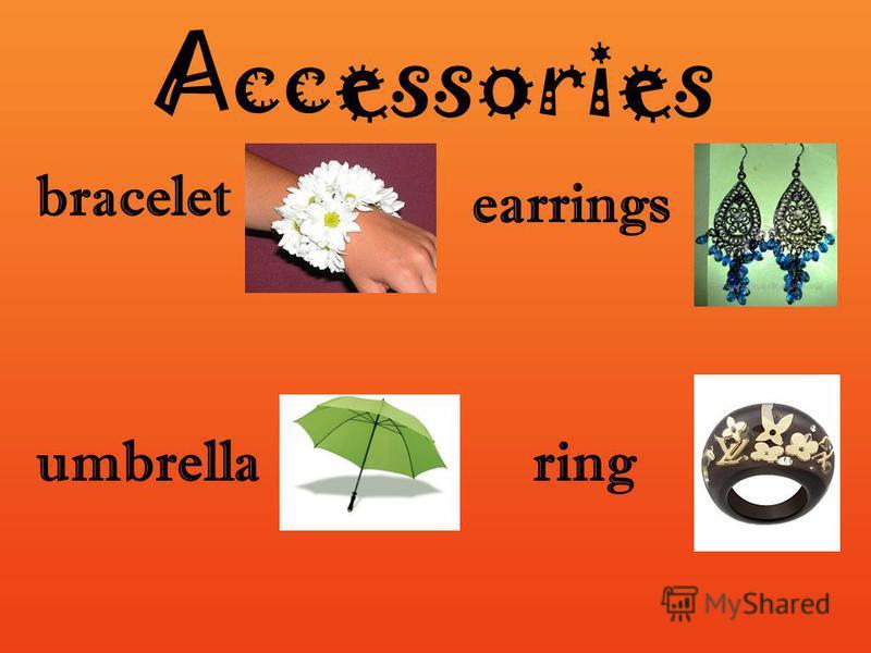 Accessories bracelet umbrellaring earrings