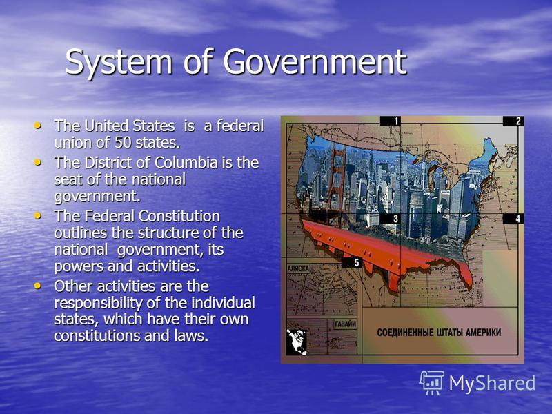 the united states government system a There are a few major differences between the political system of the united states and government in the united states to politics of the united states.