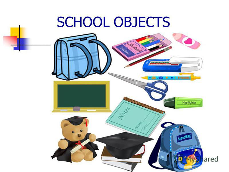 SCHOOL OBJECTS