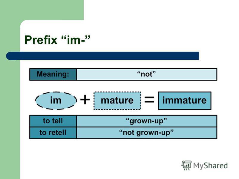 Prefix im-