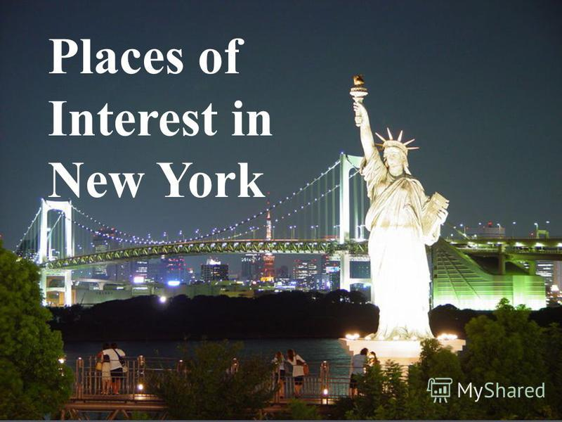 Places of Interest in New York