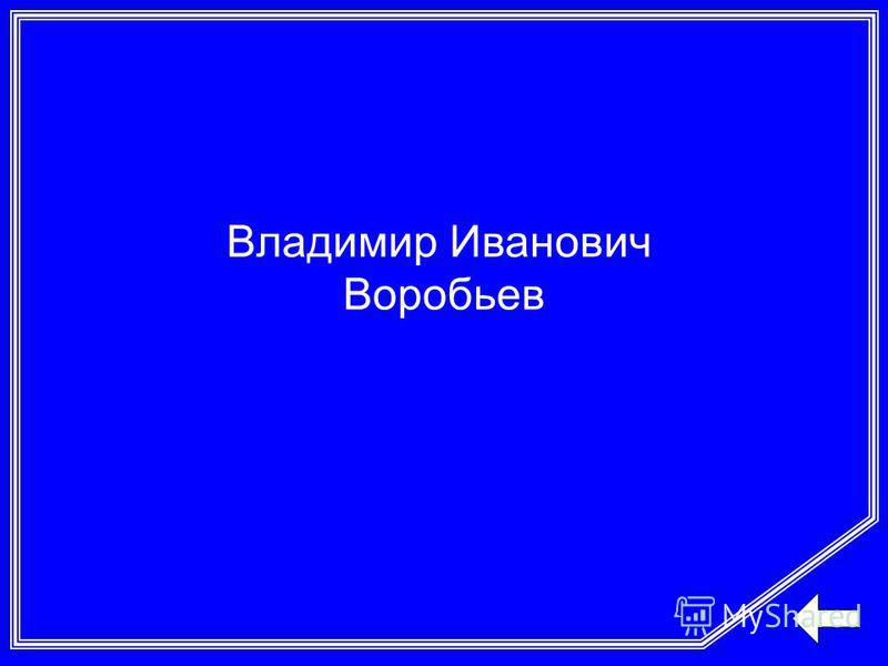 Владимир Иванович Воробьев