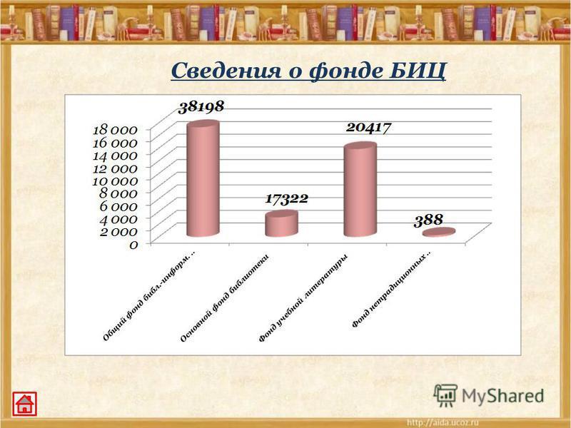Сведения о фонде БИЦ