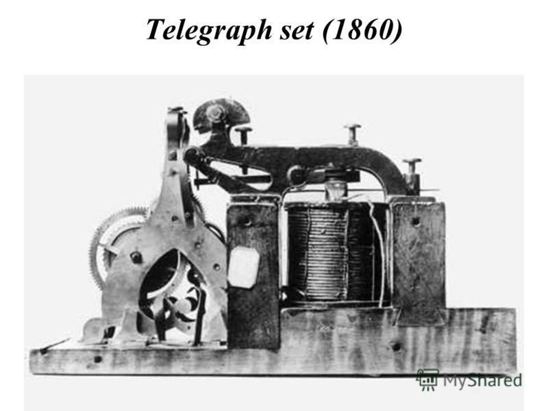 Telegraph set (1860)