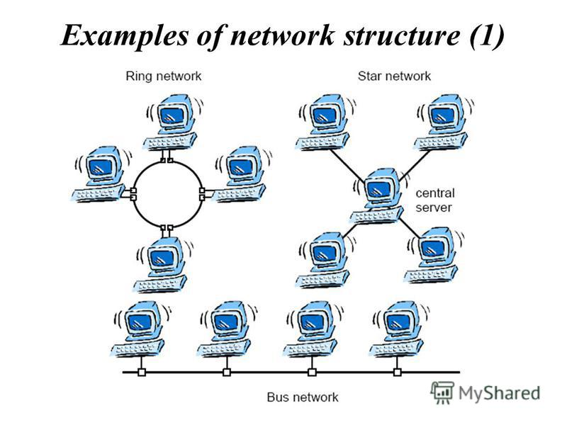 Examples of network structure (1)