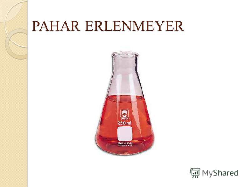PAHAR ERLENMEYER