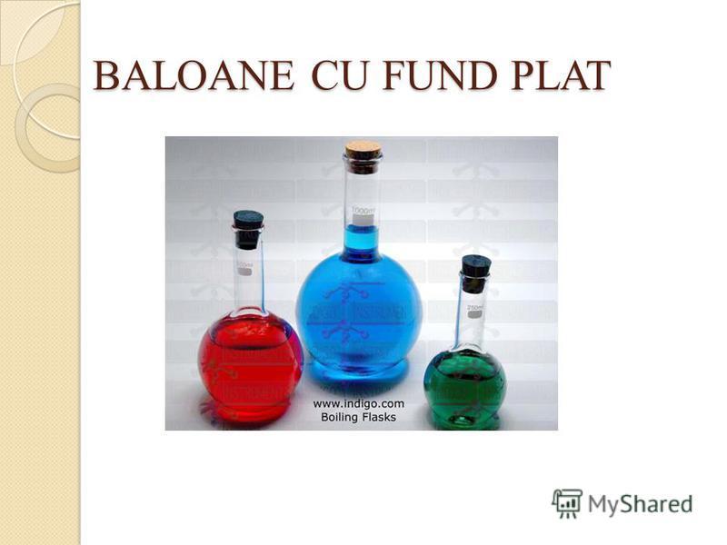BALOANE CU FUND PLAT