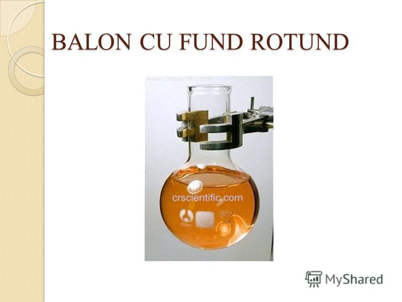 BALON CU FUND ROTUND