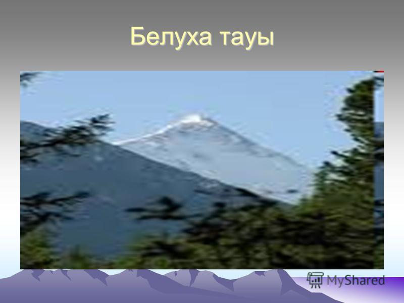 Белуха тауы