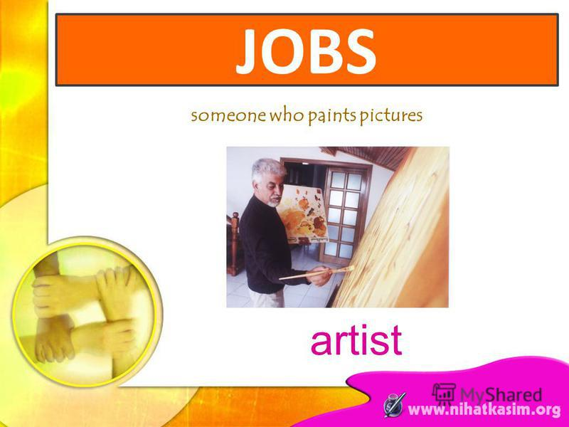 someone who paints pictures JOBS artist