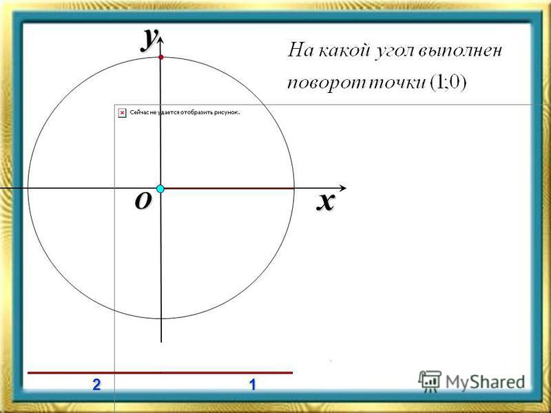 x y O 12