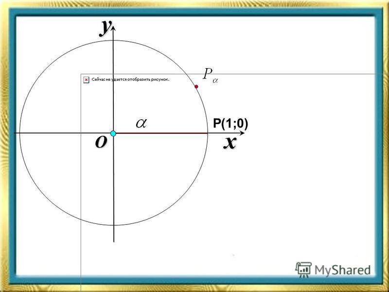 x y O Р(1;0)