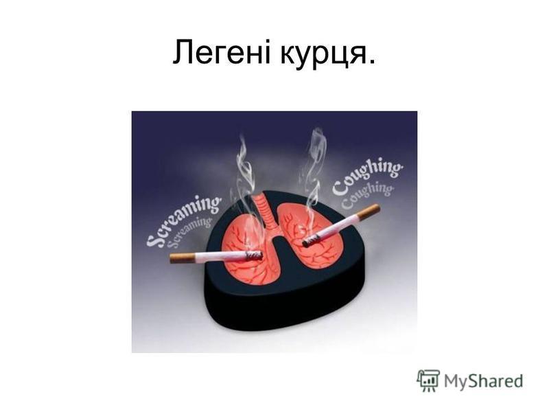 Легені курця.