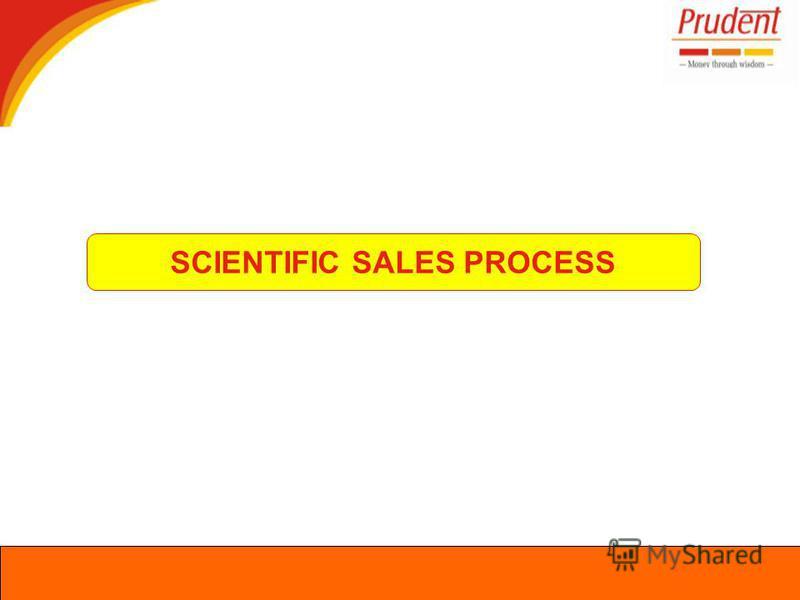 SCIENTIFIC SALES PROCESS