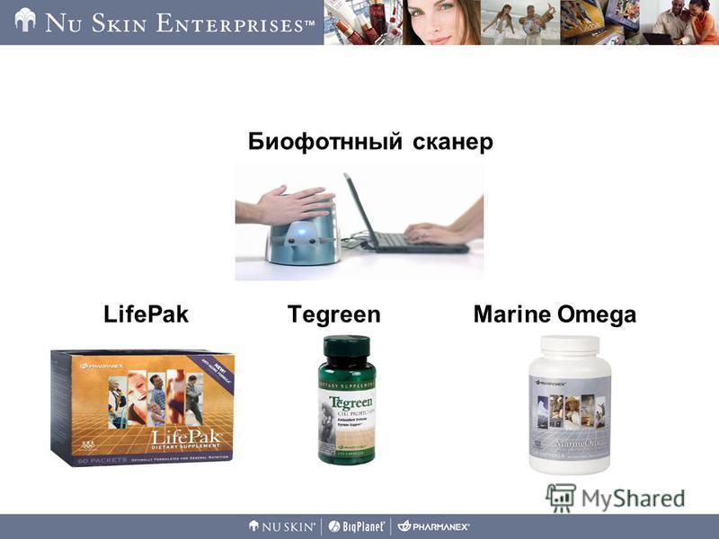 Биофотнный сканер LifePak Tegreen Marine Omega