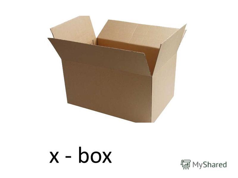 x - box