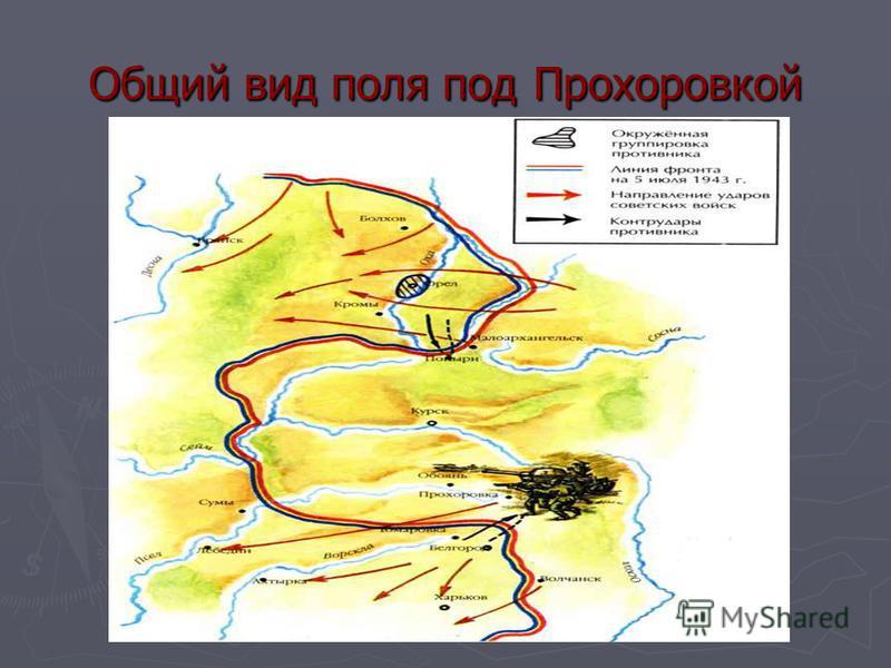 Общий вид поля под Прохоровкой