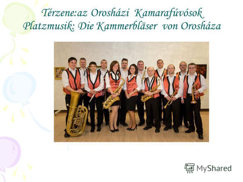 Térzene:az Orosházi Kamarafúvósok Platzmusik: Die Kammerbläser von Orosháza