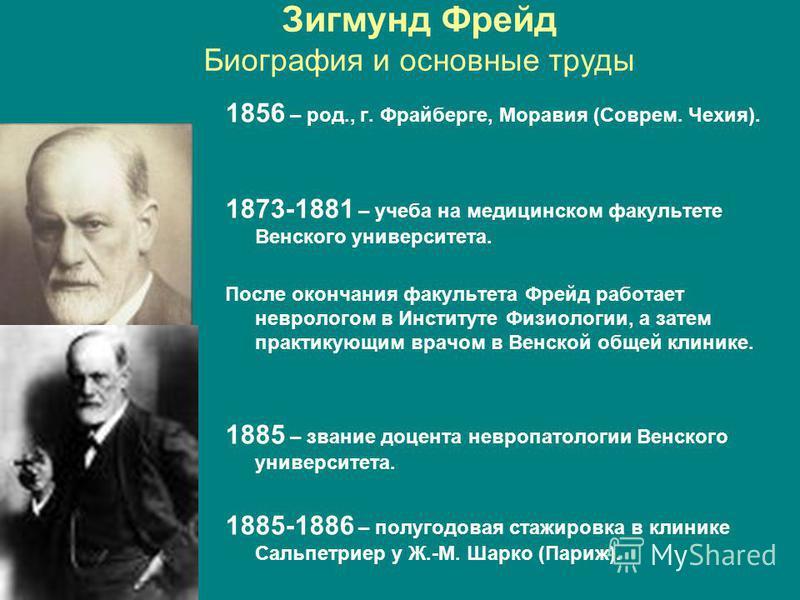 a biography of sigmund freud