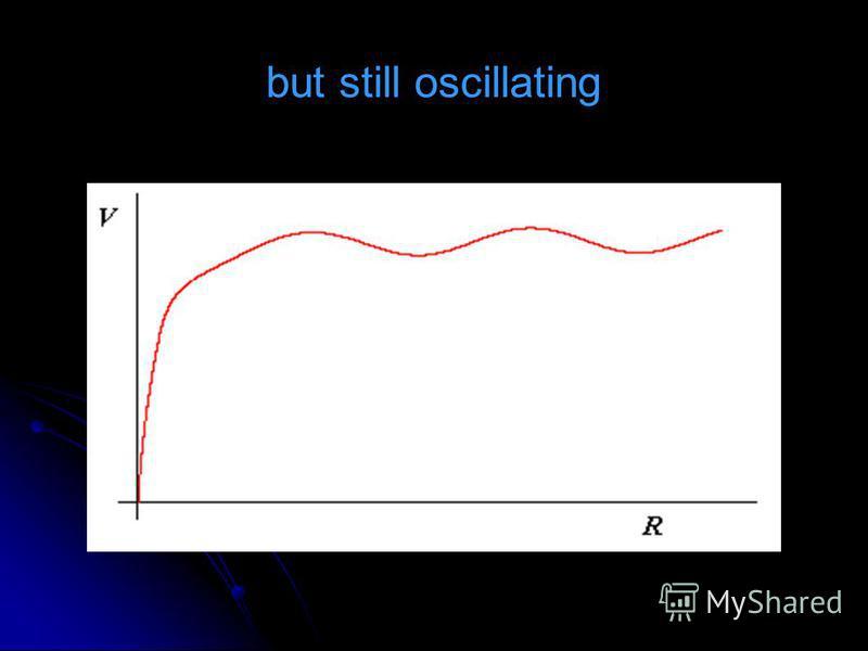 but still oscillating