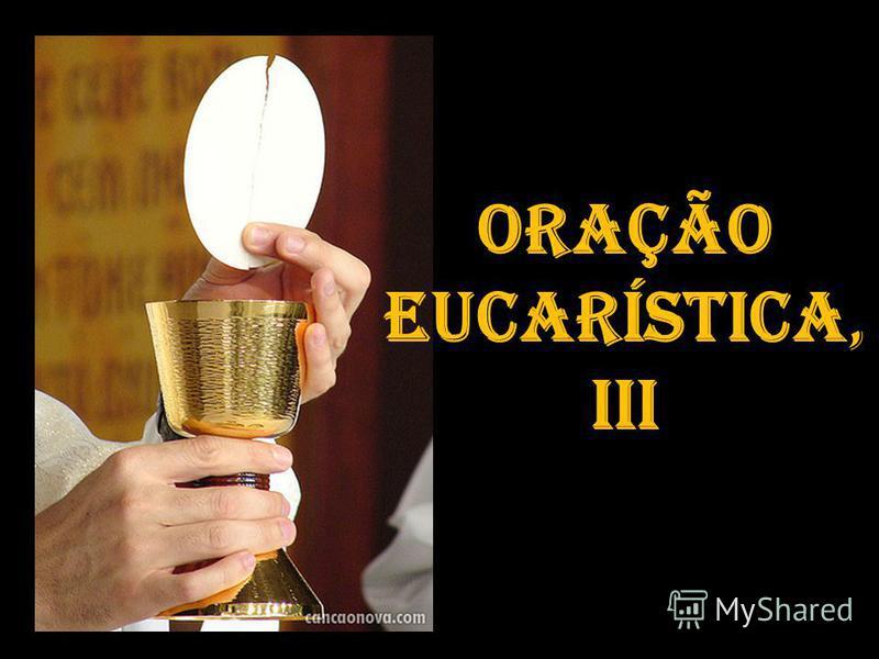 Oração Eucarística, IIi