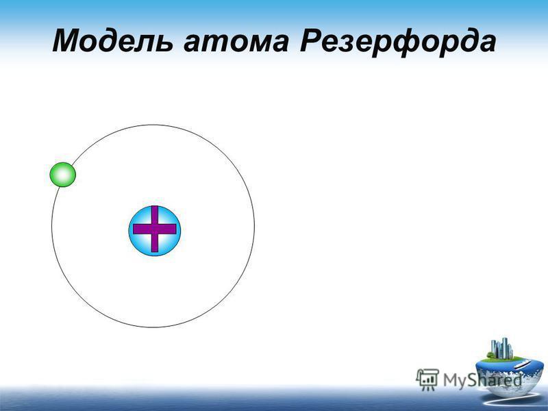Модель атома Резерфорда