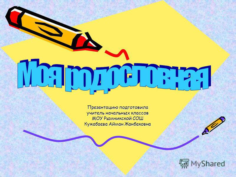 Презентацию подготовила учитель начальных классов МОУ Рымникской СОШ Кужабаева Айман Жанбековна