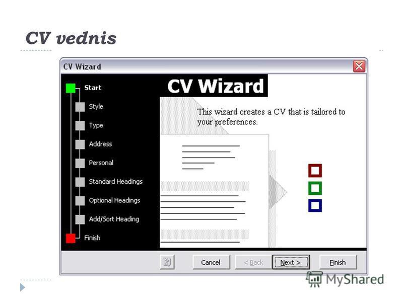 CV vednis