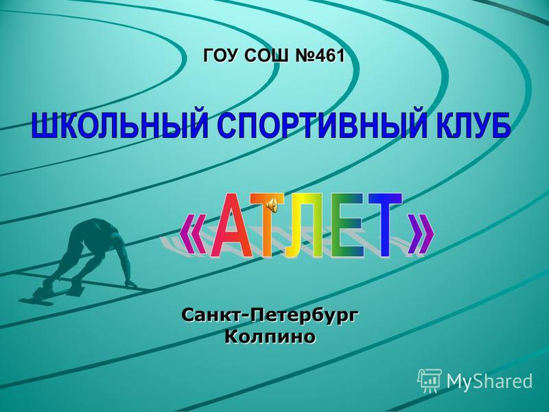 ГОУ СОШ 461 Санкт-Петербург Колпино