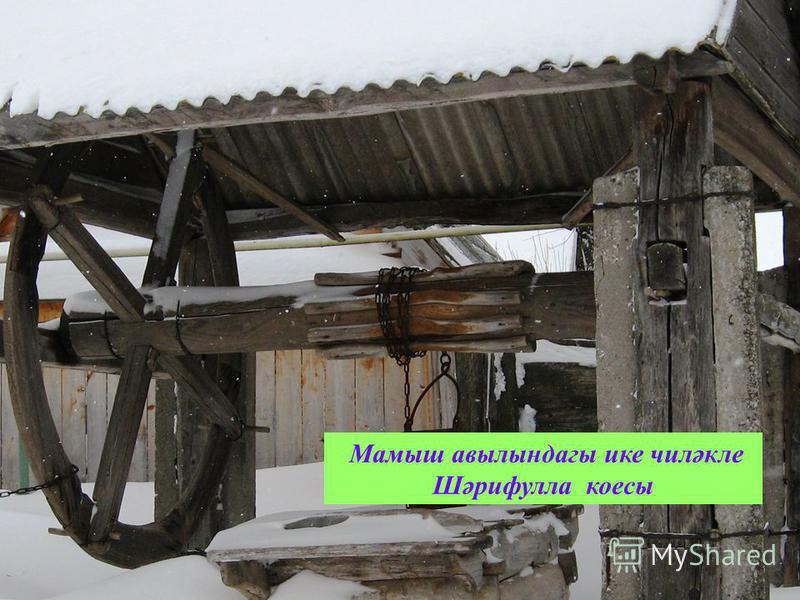 Мамыш авылындагы ике чиләкле Шәрифулла коесы