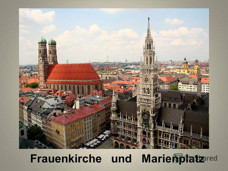 Frauenkirche und Marienplatz