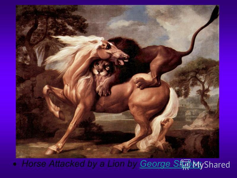 Horse Attacked by a Lion by George StubbsGeorge Stubbs