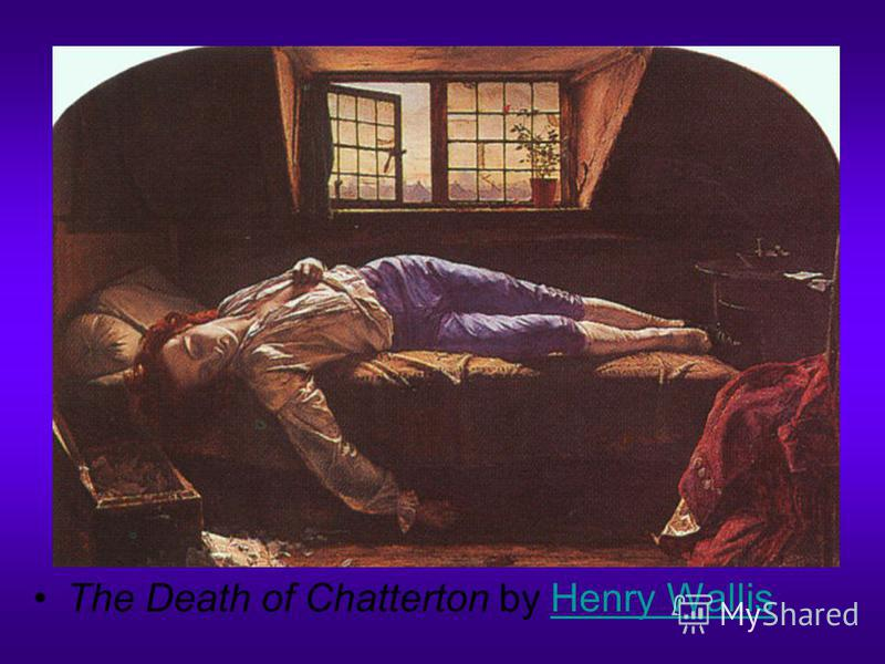 The Death of Chatterton by Henry WallisHenry Wallis