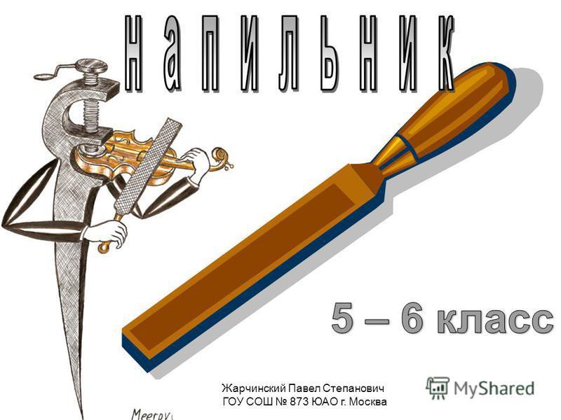 Жарчинский Павел Степанович ГОУ СОШ 873 ЮАО г. Москва