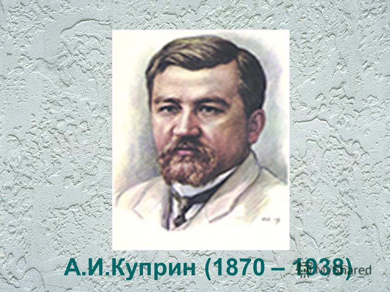 А.И.Куприн (1870 – 1938)